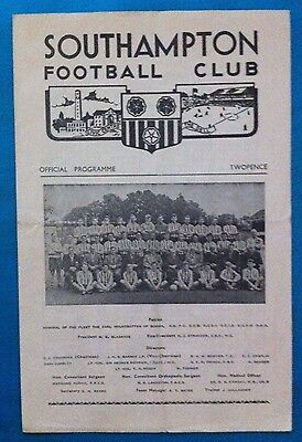 Southampton Reserves v Norwich City Reserves - 4th March 1961