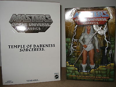 MOTUC - Masters of the Universe Classics - Temple of darkness Sorceress Rare