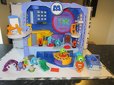 Fisher Price Imaginext Disney Monsters Inc Scare Factory Playset With Extras