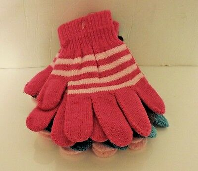 4 Pairs of Kids Gloves Winter COLD Fashion -- 4 Different Styles!