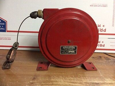 Static Discharge Grounding Reel - APPLETON Electric Company CAT# SD-11 SAVE $$$