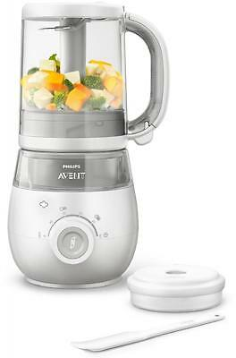New! Philips Avent Combined Steamer And Blender 4 In 1 Healthy Baby Food Maker