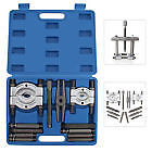 12 pcs Bearing Splitter Gear Puller Fly Wheel Separator Set Tool Kit UK