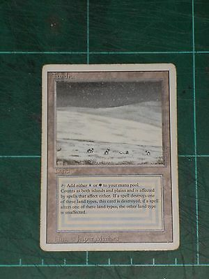 MTG: Tundra. Light Played/ Played-Good. Magic The Gathering - Revised Edition -