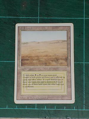 MTG: Savannah. Mint/Near Mint. Magic The Gathering - Revised Edition.
