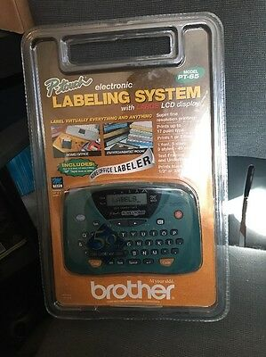 Brother P-touch Electronic Labeling System - PT-65 Thermal  Label Maker