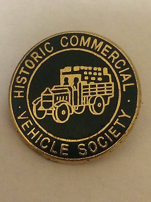 Historic Commercial Vehicle Society Enamel Pin Badge
