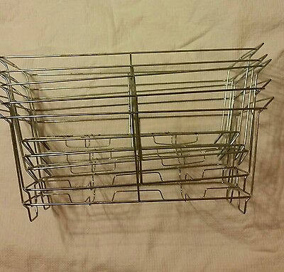 Lot of 5 Buffet Chafer Food Warmer Metal Frame Stand Rack Full Size Chafing Dish