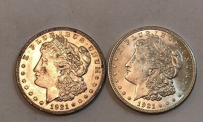 Morgan Silver Dollar Lot of 2 Very Nice Coins