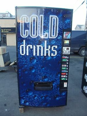 Dixie Narco 501E can / bottle beverage vending machine Generic Cold Drink front