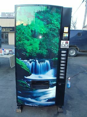 Dixie Narco 501E can / bottle beverage vending machine Generic Cascade Waterfall