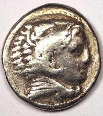 Alexander the Great III AR Tetradrachm Coin - 336-323 BC - VF (Very Fine)