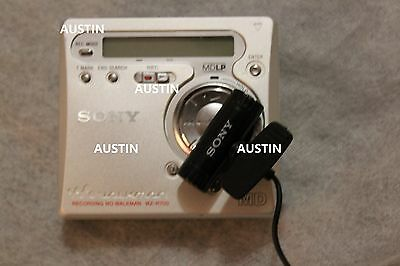 Sony Mz R700 Minidisc Player Recorder Md With Microphone