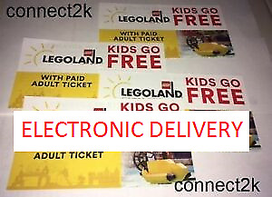 KID CHILD GO FREE w/paid Adult Legoland Florida Email Code in MINS Exp 12/31/19