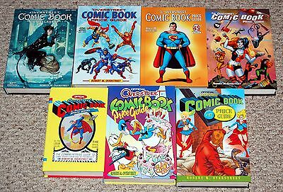 Overstreet Comic Book Price Guide HARDCOVER 7pc Lot #32 34 37 42 42 45 46