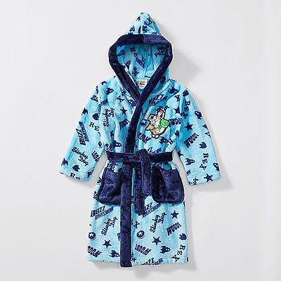 NEW Toy Story Hooded Dressing Gown Kids