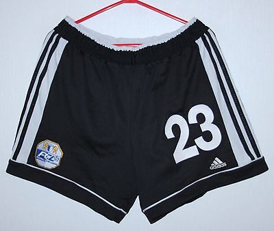 Rare FC Luzern swiss match worn shorts #23 Adidas