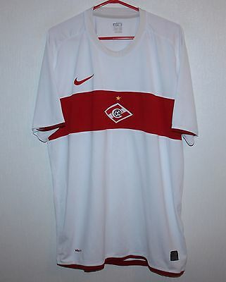 Spartak Moscow Russia away shirt 09/10 Nike Size XL