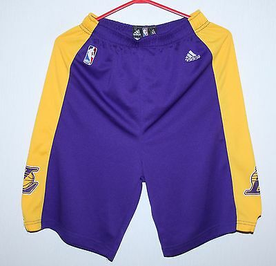 Los Angeles Lakers NBA shorts Adidas KIDS Size XL