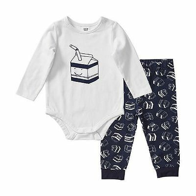 NEW Baby 2 Piece Bodysuit And Pants Set