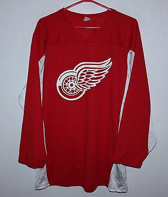 Vintage Detroit Red Wings NHL ice hockey shirt jersey #49 Size S