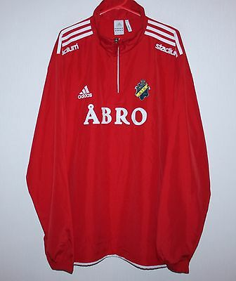 AIK Fotboll Sweden player issue training jacket Adidas Size 48/50