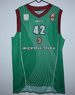 BC Ferro Ukraine basketball match worn shirt #42 Kamusaki Size XXL