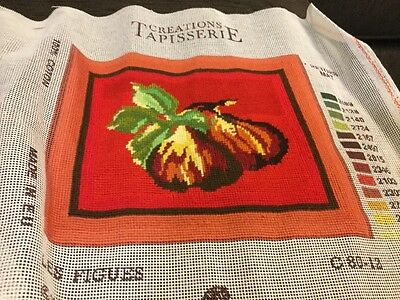 Unframed Completed Tapestry - Figs