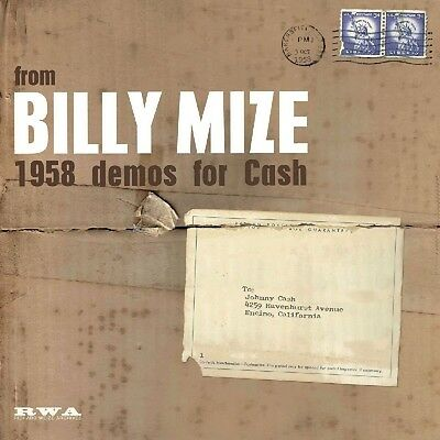 Billy Mize - 1958 Demos For Cash 10 Inch   Johnny Cash Vinyl Lp Neu