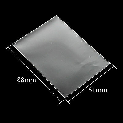 200pcs 61*88mm Card Sleeves Cards Protector Barrie for Yu-Gi-Oh board game