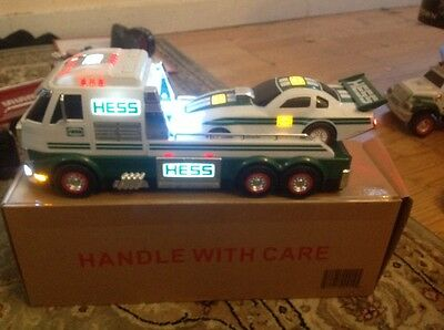 2016 Hess Toy Truck  & Dragster Brand New in Unopened Box - Batteries Included!