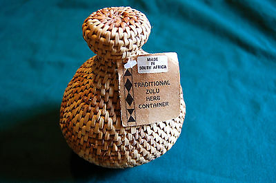 Traditional Zulu Herb Container