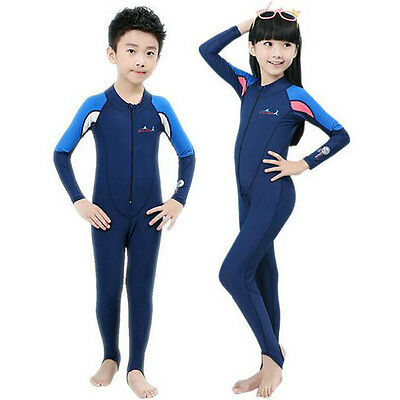 Kids Wetsuits Boy Girl Surfing Swimming Diving Suits Clothing Children One-Piece