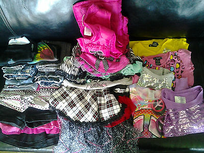 18 PC LOT  Justice,gap,babyphat,flowers by zoe size 6,6x 7/8