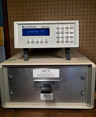LakeShore 480 Fluxmeter and a Metis MSAT 30