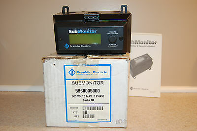 Franklin Electric SubMonitor 5860005000 Standard NEW