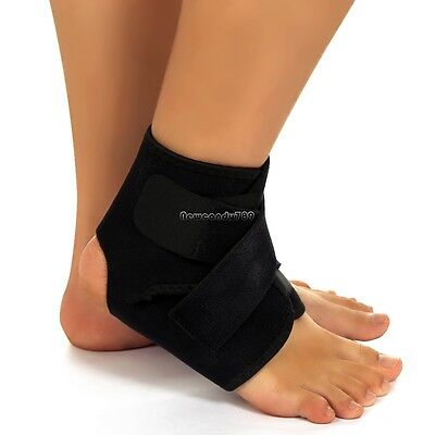 Neoprene Ankle Brace Support Stabilizer Foot Wrap Football Sports Safety NC89