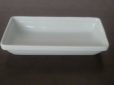 BRAND NEW ! Singapore Airlines porcelain meal dish food tray plate