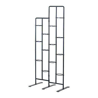 IKEA  SOCKER Plant stand, indoor/outdoor, gray