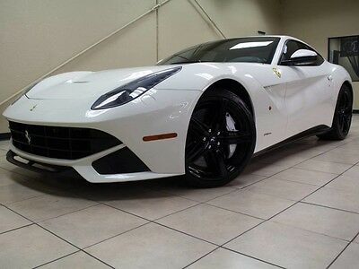 2014 Ferrari Other F12 BERLINETTA Coupe 2-Door F12 Berlinetta , BIANCO AVUS, CLEAN CARFAX FINANCING AVAILABLE UP TO 144 MONTHS