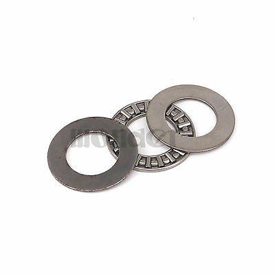 (1)17x30x2mm Thrust Needle Roller Bearing AXK1730 ABEC-1 Each With Two Washers