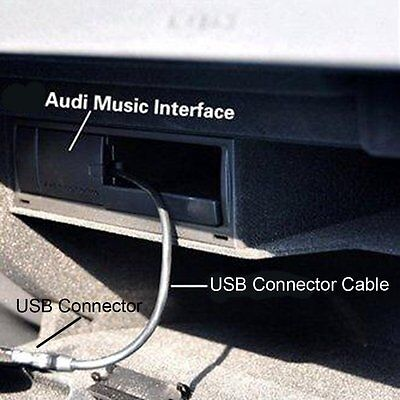 In Car AMI MDI USB Charge Adapter Cable For iPhone 5 5S 6 Plus Audi Volkswagen