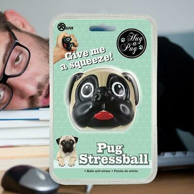 Pug Stressball | home stress device gadget animal novelty funny decor