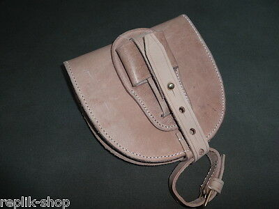 Wwi Aussie Leather Horseshoe Case