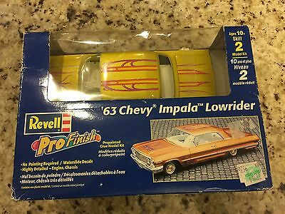 1963 Chevy Impala Lowrider Revell 85-1653 1/25 New Car Model Kit