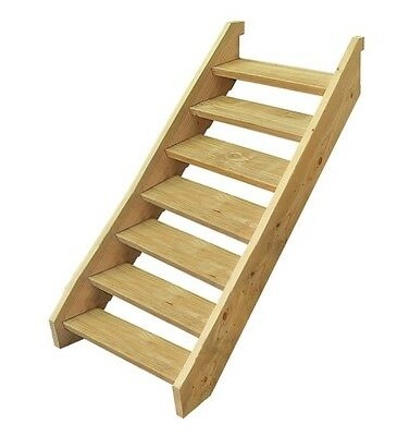 Ezistep Timber 7 Step Stair Kit  Vertical Height of 1280MM size 10g x 63.5mm NEW