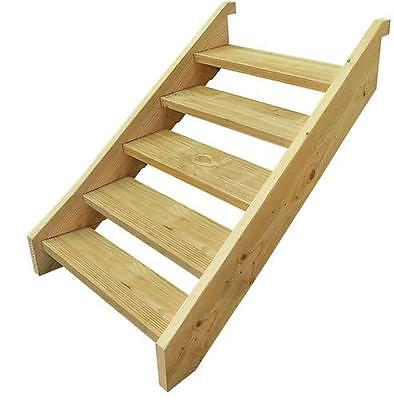 Ezistep Timber 5 Step Stair Kit  Vertical Height of 960MM size 10g x 63.5mm NEW