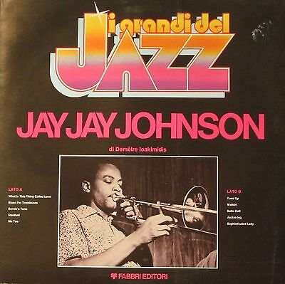 I Grandi Del Jazz - Jay Jay Johnson (Fabbri-Editori LP with Booklet Italy 1979)