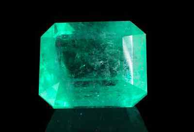 26.64ct Loose Natural Colombian Green Emerald