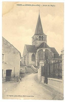 CPA 21 - BRION SUR OURCE (Côte d'Or) - Abside de l'Eglise